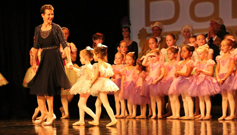 Ballet First pupils at the 2016 annual performance