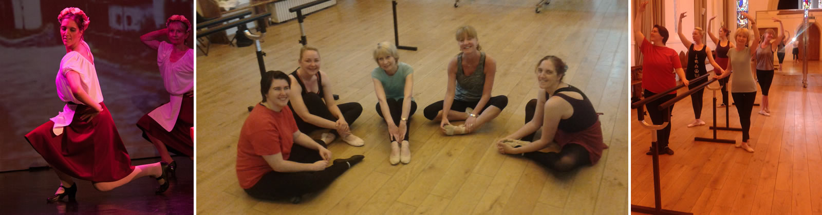 Adult Ballet and Dance Classes in Old Harlow, Essex