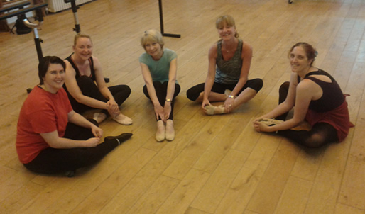 Adult dance class at our Old Harlow studio