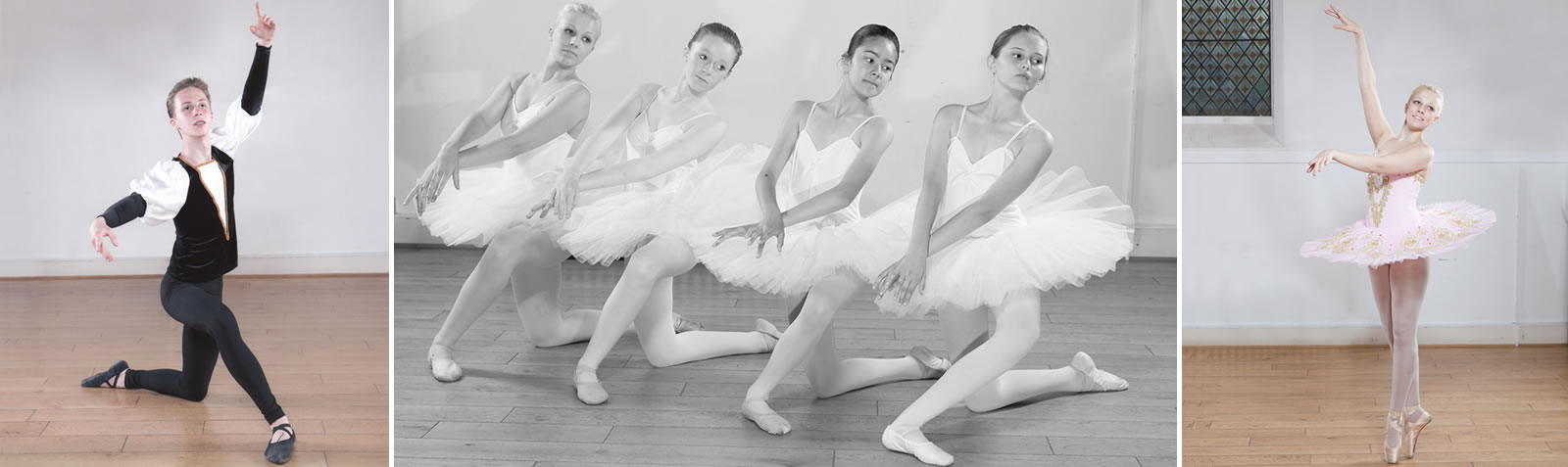 Vocational and adult ballet students practicing at our studios in Old Harlow, Essex