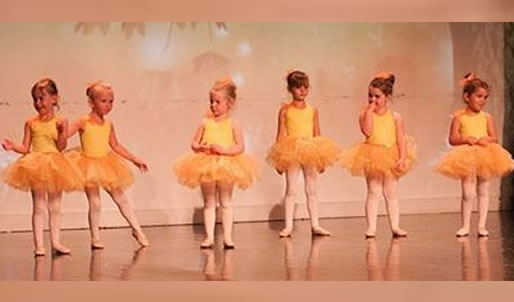 Children&s ballet class at our Old Harlow studio