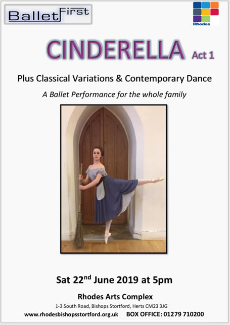 Ballet First programme